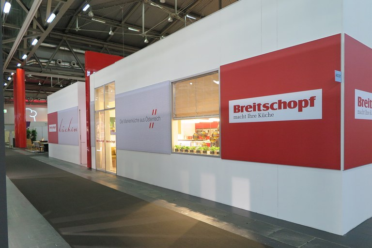 Breitschopf Messestand